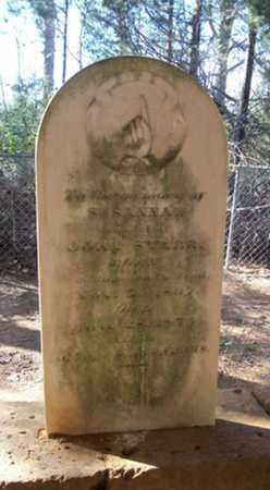 PARKER STARR, SUSANNAH - Anderson County, Texas   SUSANNAH PARKER STARR - Texas Gravestone Photos