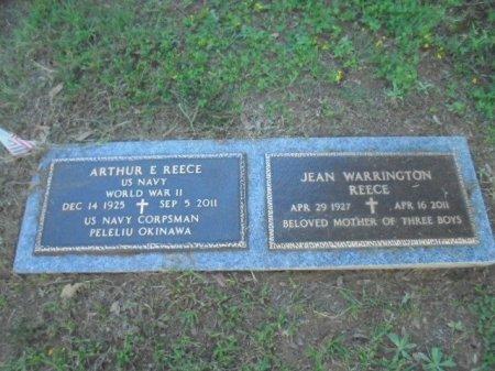 WARRINGTON REECE, JEAN - Anderson County, Texas | JEAN WARRINGTON REECE - Texas Gravestone Photos
