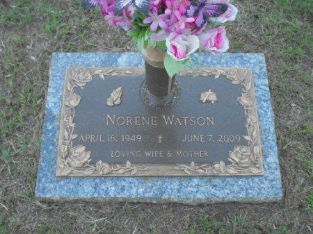 WOODARD WATSON, NORENE - Anderson County, Texas | NORENE WOODARD WATSON - Texas Gravestone Photos
