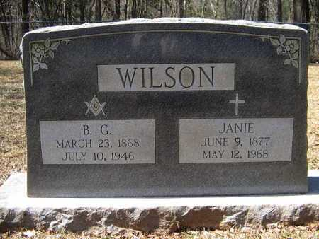 RUSSELL WILSON, SARAH JANE - Anderson County, Texas | SARAH JANE RUSSELL WILSON - Texas Gravestone Photos