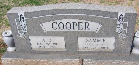 COOPER, A.J. - Andrews County, Texas   A.J. COOPER - Texas Gravestone Photos