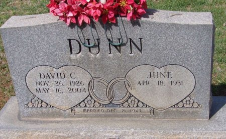 DUNN, DAVID CARRAL - Andrews County, Texas | DAVID CARRAL DUNN - Texas Gravestone Photos