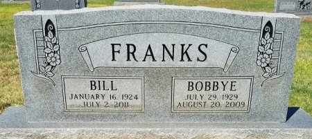 FRANKS, BILL - Andrews County, Texas | BILL FRANKS - Texas Gravestone Photos