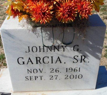 GARCIA, SR., JOHNNY G. - Andrews County, Texas | JOHNNY G. GARCIA, SR. - Texas Gravestone Photos
