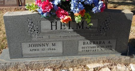 HELMS, BARBARA A. - Andrews County, Texas   BARBARA A. HELMS - Texas Gravestone Photos