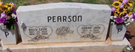 PEARSON, BILLY GENE - Andrews County, Texas | BILLY GENE PEARSON - Texas Gravestone Photos