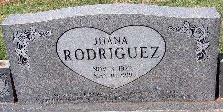 RODRIQUEZ, JUANA - Andrews County, Texas | JUANA RODRIQUEZ - Texas Gravestone Photos