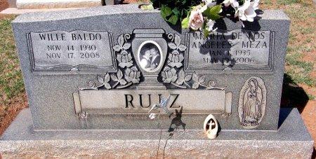 MEZA RUIZ, MARIA DE LOS ANGELES - Andrews County, Texas | MARIA DE LOS ANGELES MEZA RUIZ - Texas Gravestone Photos