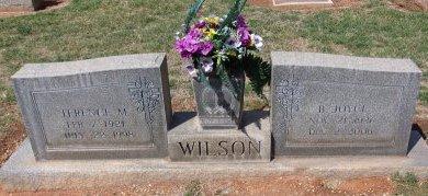 WILSON, B. JOYCE - Andrews County, Texas | B. JOYCE WILSON - Texas Gravestone Photos