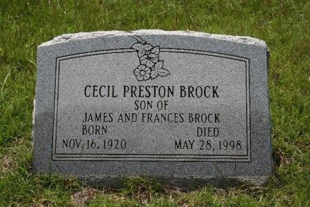 BROCK, CECIL PRESTON - Angelina County, Texas | CECIL PRESTON BROCK - Texas Gravestone Photos