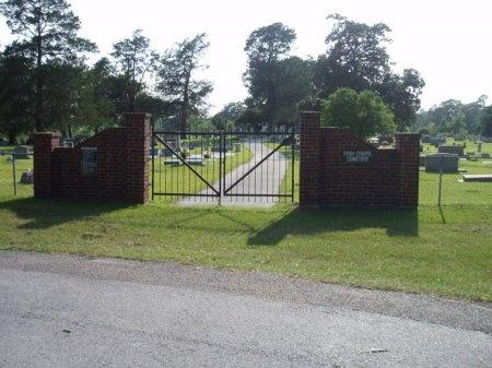 *CEMETERY GATE,  - Angelina County, Texas |  *CEMETERY GATE - Texas Gravestone Photos