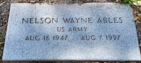 ABLES (VETERAN), NELSON WAYNE - Aransas County, Texas | NELSON WAYNE ABLES (VETERAN) - Texas Gravestone Photos