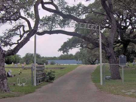 *ENTRANCE AND OVERVIEW,  - Aransas County, Texas |  *ENTRANCE AND OVERVIEW - Texas Gravestone Photos