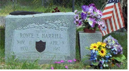 "HARRELL (VETERAN KOR), ROYCE E ""TEETSIE"" - Aransas County, Texas 
