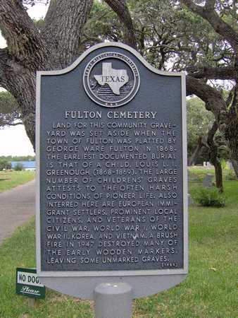 *HISTORICAL MARKER,  - Aransas County, Texas |  *HISTORICAL MARKER - Texas Gravestone Photos