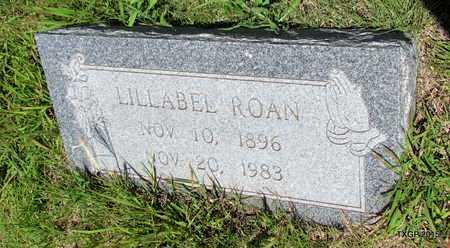 ROAN, LILLABEL - Armstrong County, Texas   LILLABEL ROAN - Texas Gravestone Photos