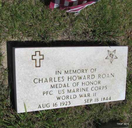 ROAN (VETERAN WWII), CHARLES HOWARD - Armstrong County, Texas | CHARLES HOWARD ROAN (VETERAN WWII) - Texas Gravestone Photos