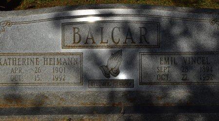 BALCAR, EMIL VINVEL - Atascosa County, Texas   EMIL VINVEL BALCAR - Texas Gravestone Photos