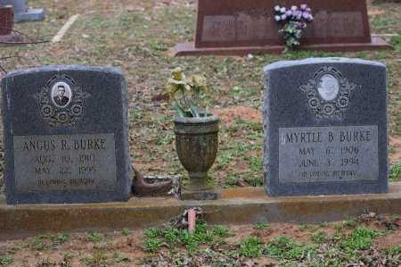 BURKE, ANGUS R - Atascosa County, Texas | ANGUS R BURKE - Texas Gravestone Photos