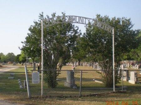 *CEMETERY SIGN,  - Atascosa County, Texas |  *CEMETERY SIGN - Texas Gravestone Photos