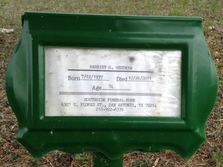 FLOYD HESSKEW, HARRIET G. - Atascosa County, Texas   HARRIET G. FLOYD HESSKEW - Texas Gravestone Photos