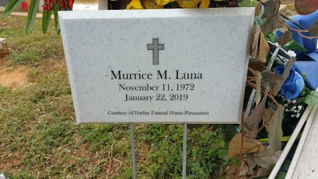 LUNA, MURRICE M - Atascosa County, Texas | MURRICE M LUNA - Texas Gravestone Photos