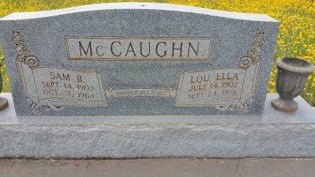 MCCAUGHN, LOU ELLA - Atascosa County, Texas | LOU ELLA MCCAUGHN - Texas Gravestone Photos