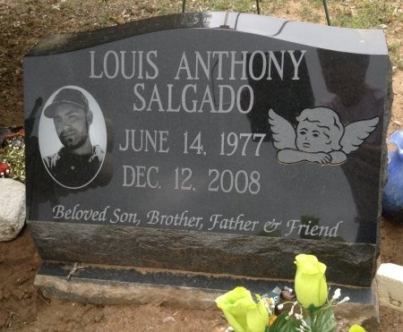 SALGADO, LOUIS ANTHONY - Atascosa County, Texas   LOUIS ANTHONY SALGADO - Texas Gravestone Photos