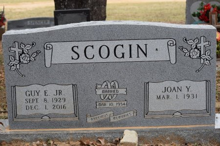 SCOGIN, JR, GUY E - Atascosa County, Texas | GUY E SCOGIN, JR - Texas Gravestone Photos