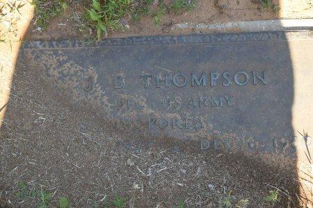 THOMPSON (VETERAN KOR), J. B. - Atascosa County, Texas | J. B. THOMPSON (VETERAN KOR) - Texas Gravestone Photos