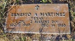 MARTINEZ (VETERAN), ERNESTO - Atascosa County, Texas | ERNESTO MARTINEZ (VETERAN) - Texas Gravestone Photos