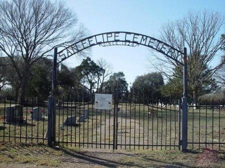 *CEMETERY ENTRANCE,  - Austin County, Texas |  *CEMETERY ENTRANCE - Texas Gravestone Photos
