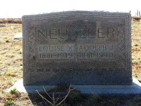 NEUTZLER, LOUISE K - Bailey County, Texas | LOUISE K NEUTZLER - Texas Gravestone Photos