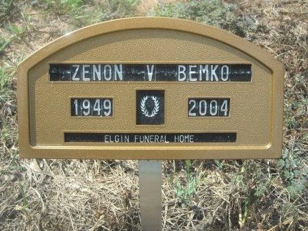 BEMKO, ZENON V. - Bastrop County, Texas | ZENON V. BEMKO - Texas Gravestone Photos