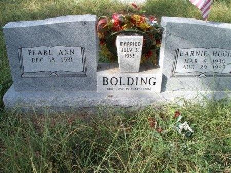 BOLDING, EARNIE HUGH - Bastrop County, Texas   EARNIE HUGH BOLDING - Texas Gravestone Photos