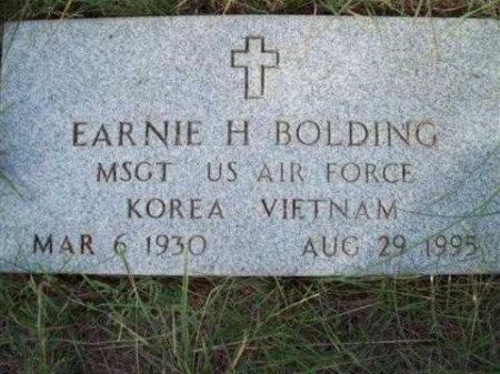BOLDING (VETERAN 2 WARS), EARNIE HUGH - Bastrop County, Texas | EARNIE HUGH BOLDING (VETERAN 2 WARS) - Texas Gravestone Photos