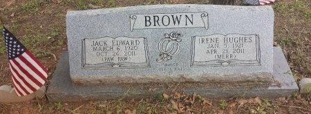 BROWN, JACK EDWARD - Bastrop County, Texas | JACK EDWARD BROWN - Texas Gravestone Photos