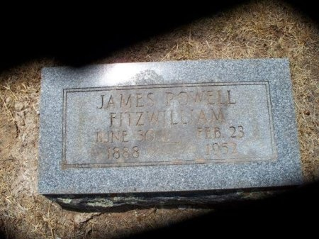 FITZWILLIAM, JAMES POWELL - Bastrop County, Texas | JAMES POWELL FITZWILLIAM - Texas Gravestone Photos