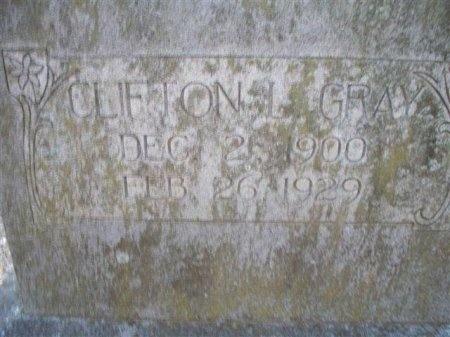 GRAY, CLIFTON L. - Bastrop County, Texas   CLIFTON L. GRAY - Texas Gravestone Photos