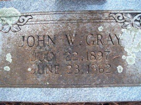 GRAY, JOHN WESLEY - Bastrop County, Texas | JOHN WESLEY GRAY - Texas Gravestone Photos