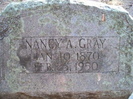GRAY, NANCY ALZONA - Bastrop County, Texas | NANCY ALZONA GRAY - Texas Gravestone Photos