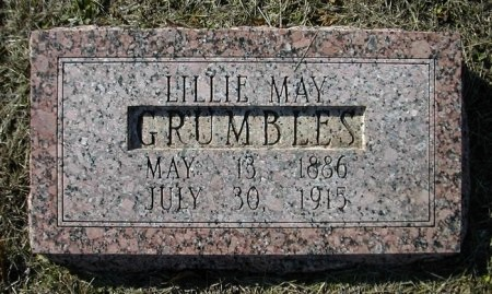 GRUMBLES, LILLIE MAY - Bastrop County, Texas | LILLIE MAY GRUMBLES - Texas Gravestone Photos