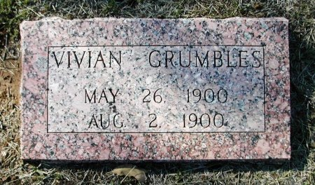 GRUMBLES, VIVIAN - Bastrop County, Texas | VIVIAN GRUMBLES - Texas Gravestone Photos