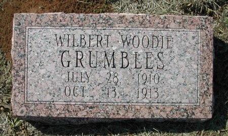 GRUMBLES, WILBERT WOODIE - Bastrop County, Texas | WILBERT WOODIE GRUMBLES - Texas Gravestone Photos