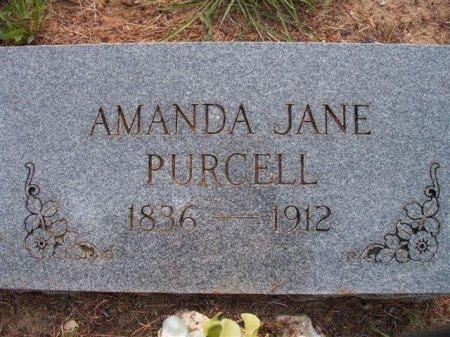INGRAM PURCELL, AMANDA JANE - Bastrop County, Texas | AMANDA JANE INGRAM PURCELL - Texas Gravestone Photos
