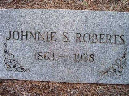 ROBERTS, JOHNNIE S. - Bastrop County, Texas   JOHNNIE S. ROBERTS - Texas Gravestone Photos