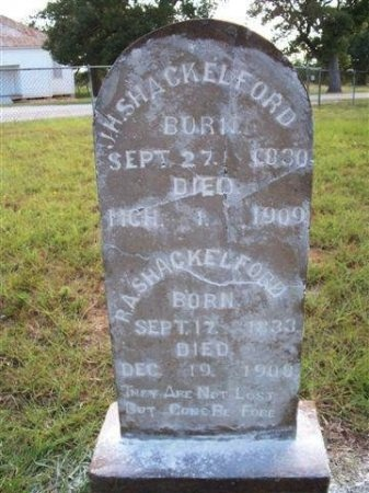 SHACKELFORD, REBECCA A. - Bastrop County, Texas   REBECCA A. SHACKELFORD - Texas Gravestone Photos