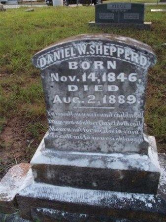 SHEPPERD, DANIEL W. - Bastrop County, Texas | DANIEL W. SHEPPERD - Texas Gravestone Photos