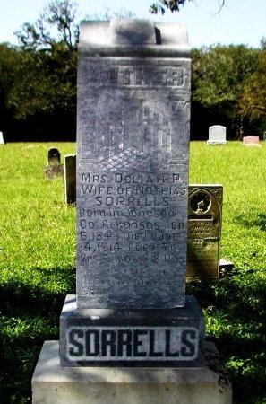 SORRELLS, DELIAH P. - Bastrop County, Texas | DELIAH P. SORRELLS - Texas Gravestone Photos