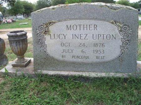 DAY UPTON, LUCY INEZ - Bastrop County, Texas | LUCY INEZ DAY UPTON - Texas Gravestone Photos